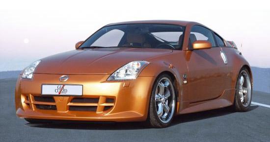 Frontspoilerstoßstange Nissan 350Z Coupe