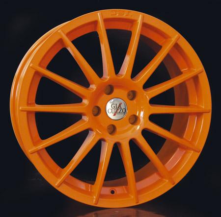 Komplettradsatz Multi-Line Orange, 8,5x19