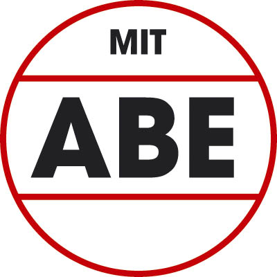 Teccno - Line 5,5x15 schwarz-glanz mit ABE