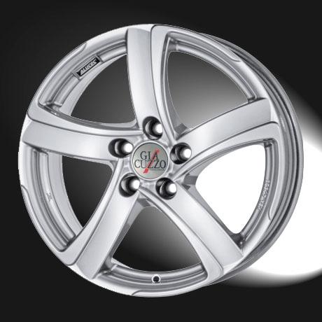 Komplettradsatz Shark-Line 18 Zoll, Premium-Silber