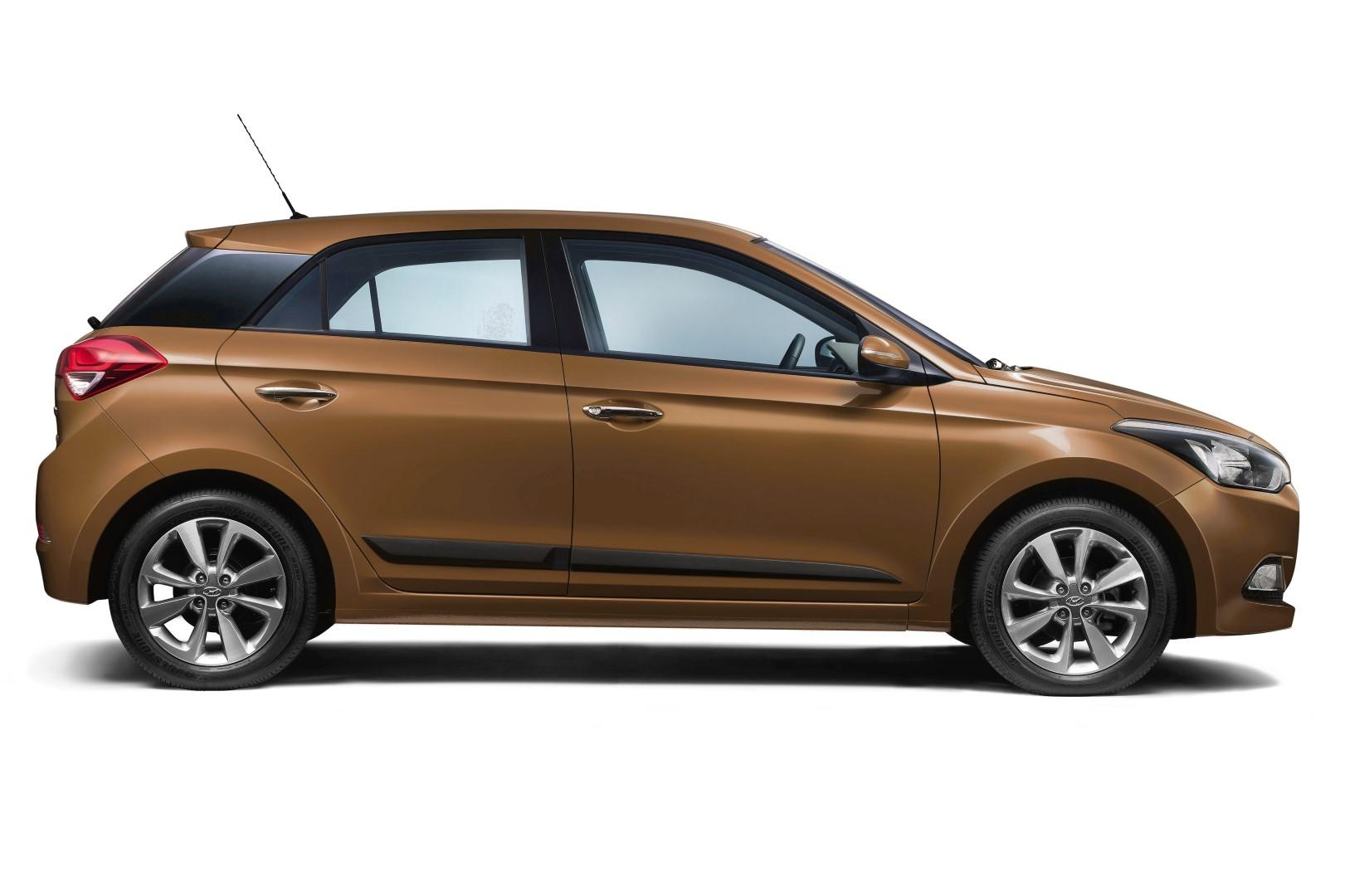 Türschutzleistenset 4tlg. Hyundai I20 5Türer ab 2014 Mattschwarz