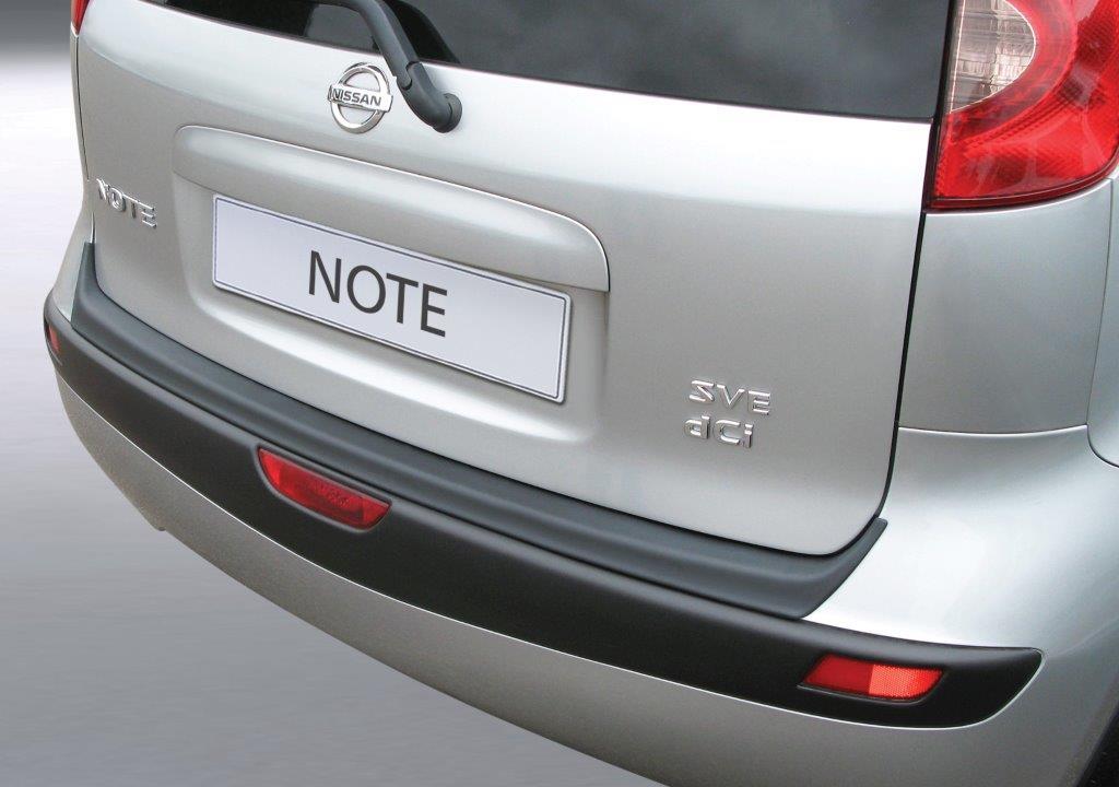 Ladekantenschutz Nissan Note E11 3/2006-08/2013 ABS Schwarz