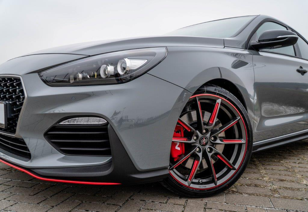 Komplettradsatz Hyundai I30N Element-Line Red