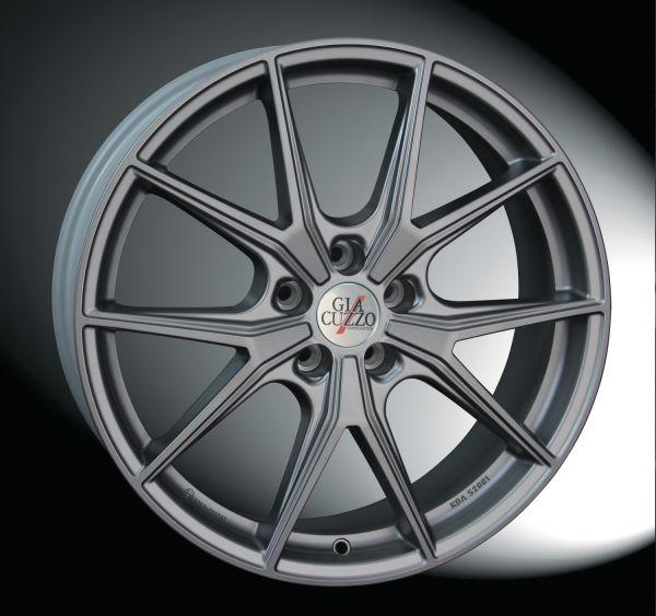 Winterkomplettradsatz Slim-Line 3000 Metal-Grey-Matt
