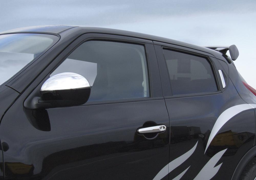 Türgriffblenden Nissan Juke 4 teilig Edelstahl Poliert