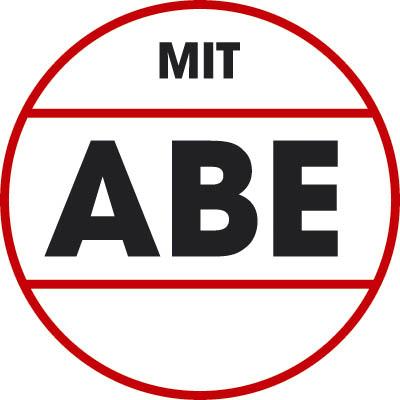 Shadow-Line 6x15 schwarz-matt mit ABE