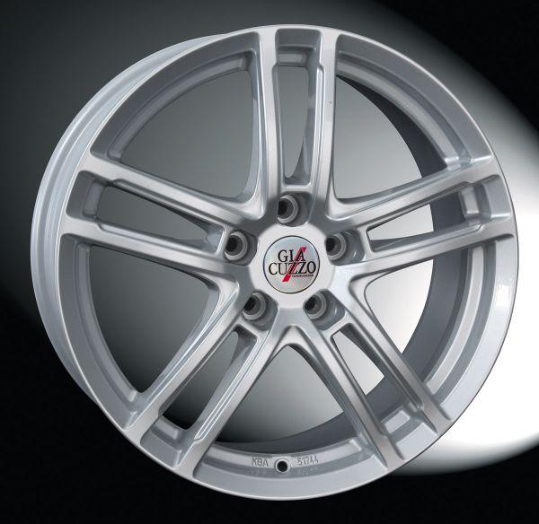 Leichtmetallfelge Match-Line Premium-Silber 8x18