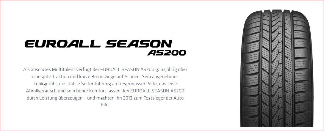 Allwetter Komlettradsatz Bravo-Line Premium-Silber 17 Zoll