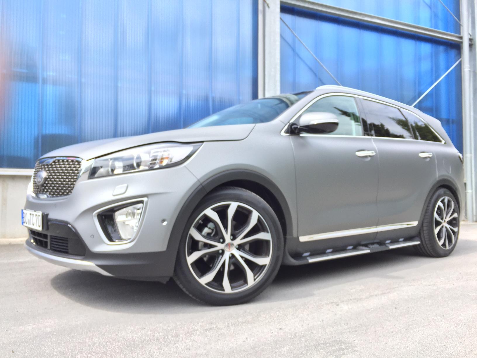 Komplettradsatz Hyundai Santa Fe DM Big-Line schwarz poliert