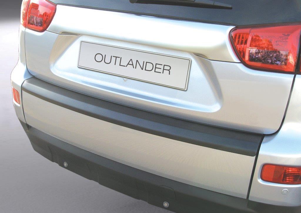 Ladekantenschutz MMC Outlander ab 02/2007-08/2012 ABS Schwarz