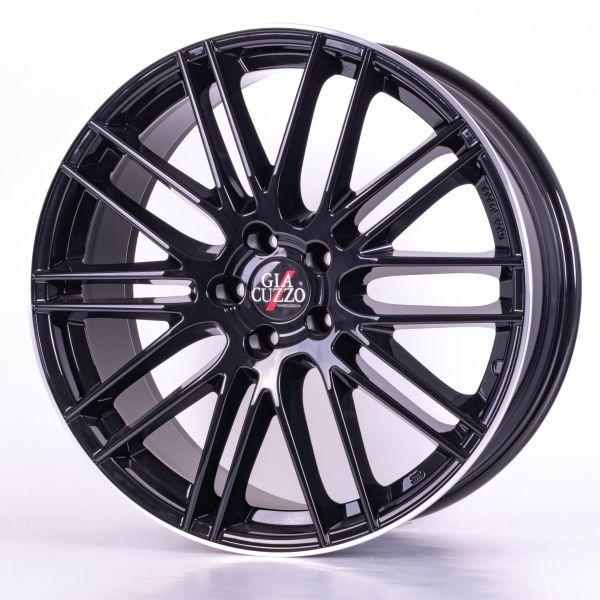 summer complete wheel set Hip-Line Diamond-Black-Polished