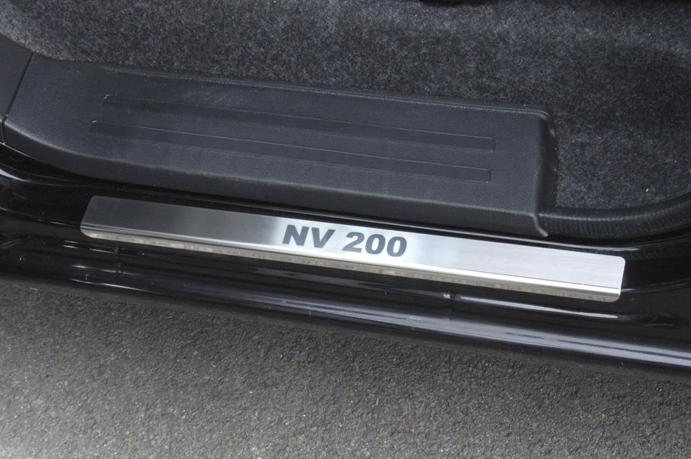 Einstiegsleisten Nissan NV 200 Edelstahl