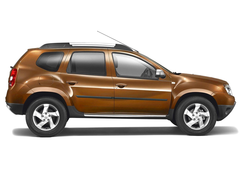 Rammschutzleistenset Dacia Duster matt-schwarz 4tlg.
