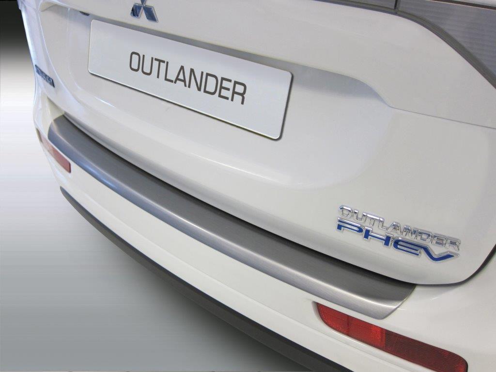 Ladekantenschutz MMC Outlander 09/2012-08/2015 ABS Schwarz