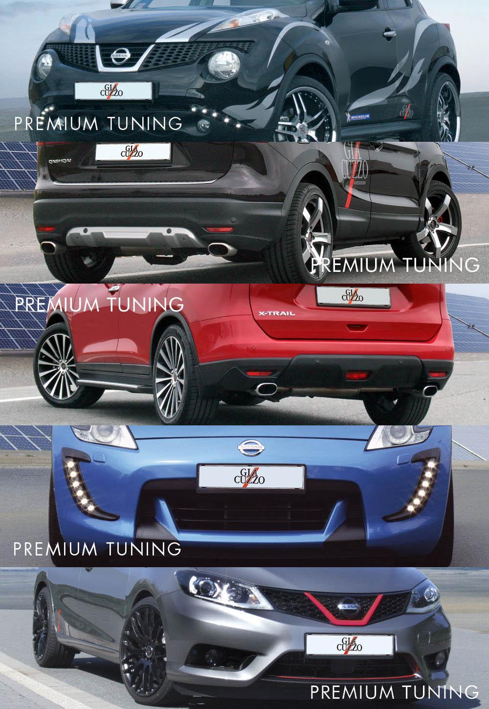Tuning, Kompletträder und Felgen für Nissan - Giacuzzo ...