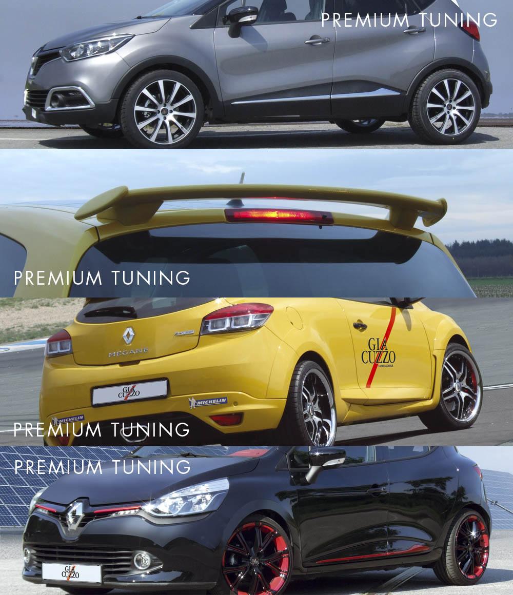 Renault Tuning Zubeh r Komplettr der und Felgen